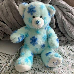 Build-A-Bear Winter Snowflake Bear Plush